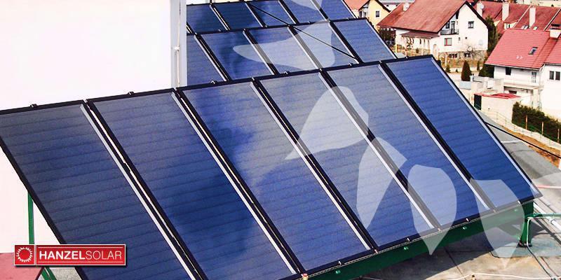Montáž 16 solárnych kolektorov a malého solárneho systému
