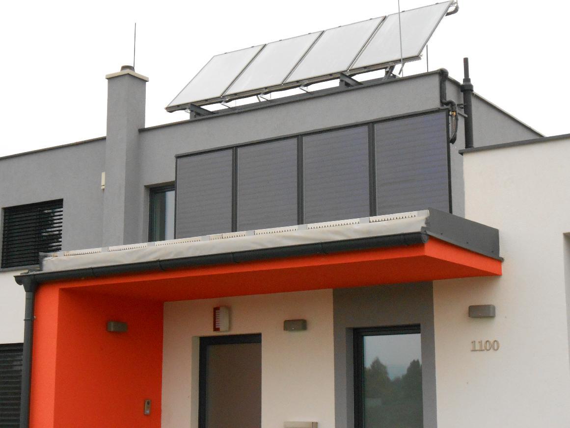 Montáže solárnych kolektorov a systémov na rodinných domoch